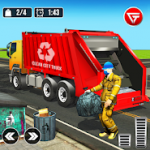 Garbage Truck: Trash Cleaner Driving Game
